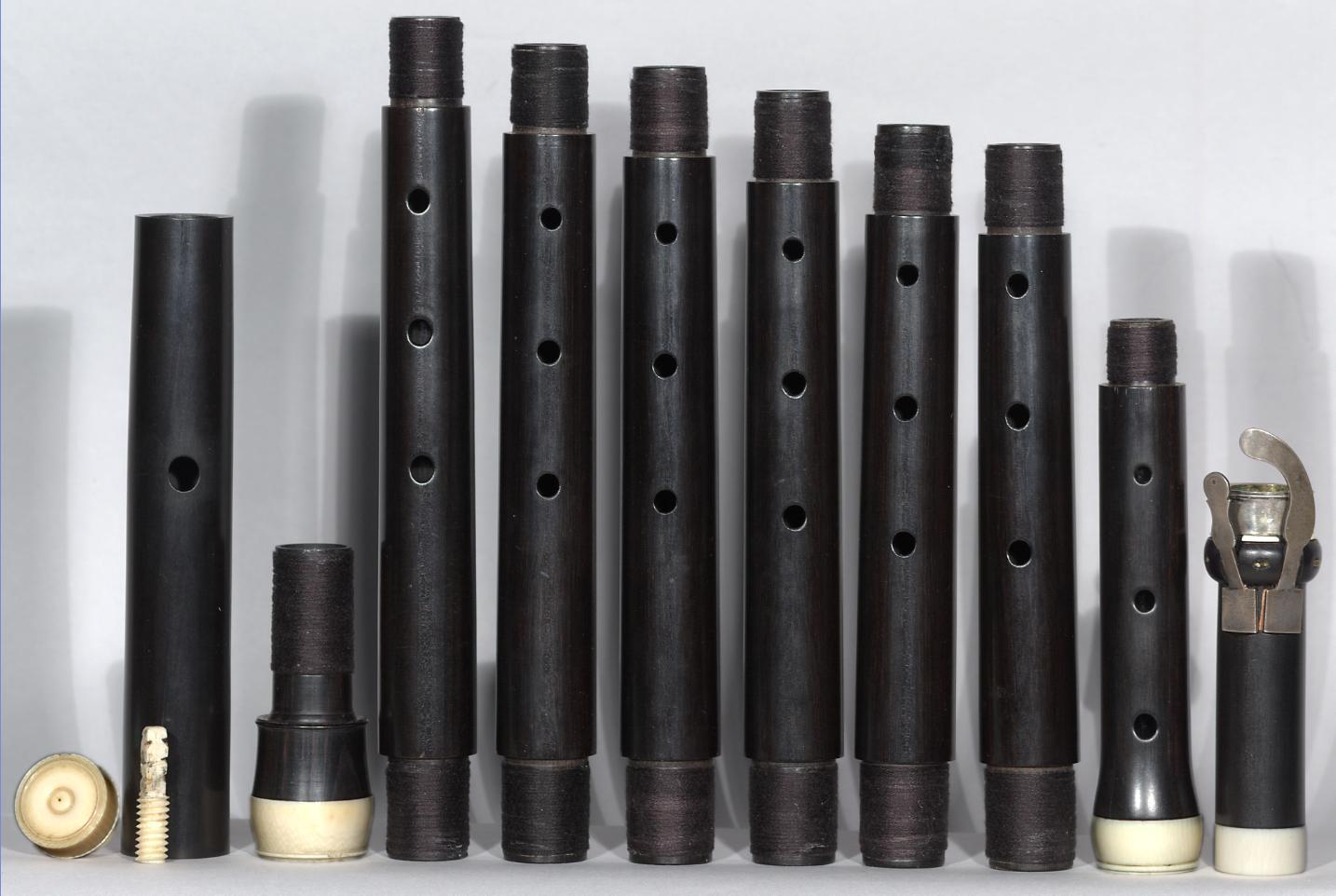 DCM 0916: Flute in C designed by Johann Joachim Quantz